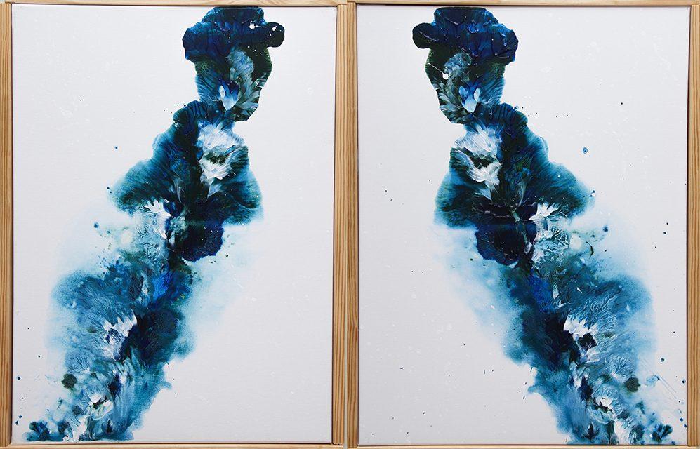Star & Leilani Original Acrylic Art Canvas Paintings