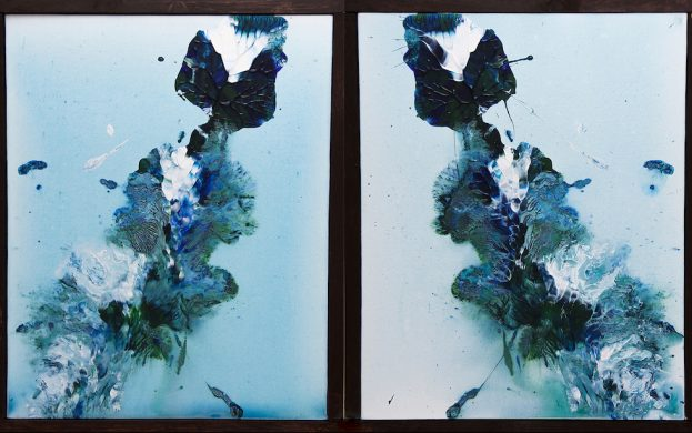Bianca & Orion Original Acrylic Art Canvas Paintings