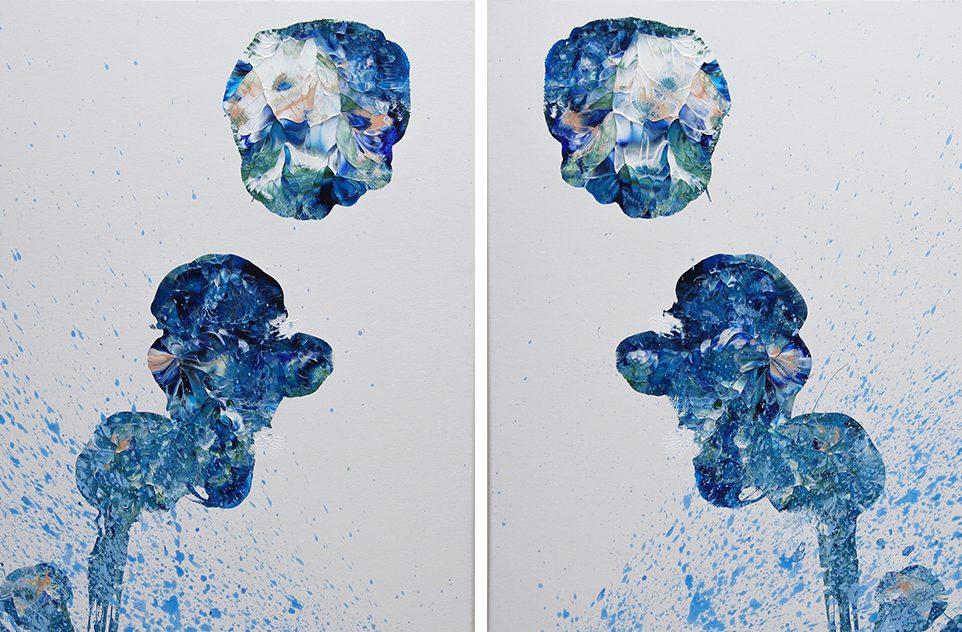 Juliet & Nevaeh Original Acrylic Art Canvas Paintings