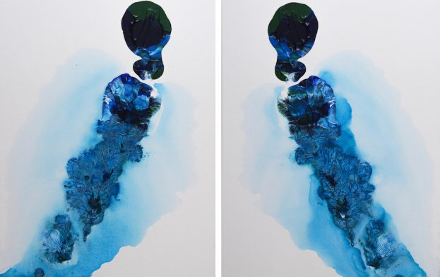 Ophelia & Ara Original Acrylic Art Canvas Paintings