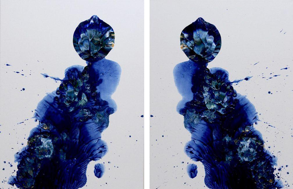 Electra & Izar Acrylic Art Canvas Paintings