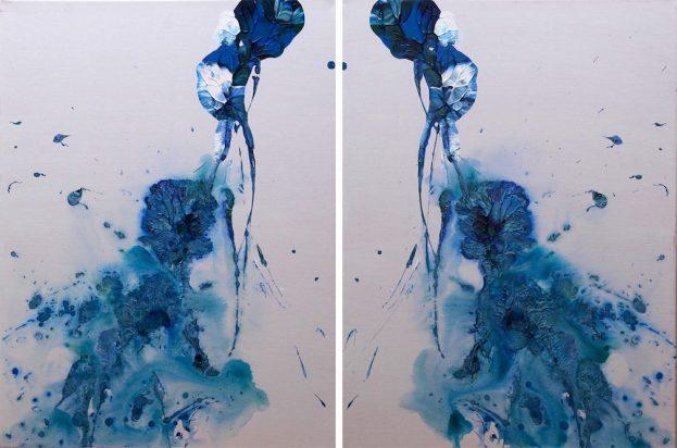 Sagittarius Original Acrylic Art Canvas Paintings